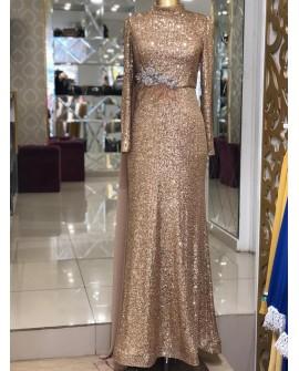 Hennin - Abiye - Gold