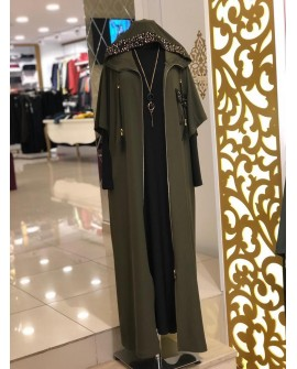 Rentree - Elbise Ferace Takım - Haki